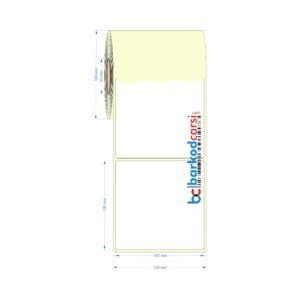 100x100 mm Barkod Etiket Fiyatı