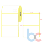 100×70 mm Barkod Etiketi