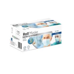 3 Katlı Roll Maske - Cerrahi Maske
