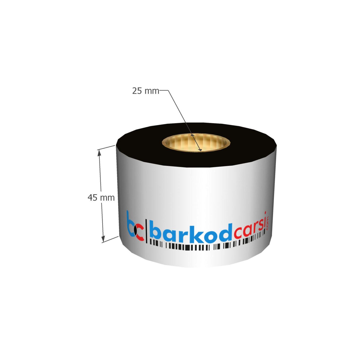 45x300 mt Wax / Wax-Resin / Resin / Hot-Foil Ribon Çeşitleri By BarkodCarsi.com