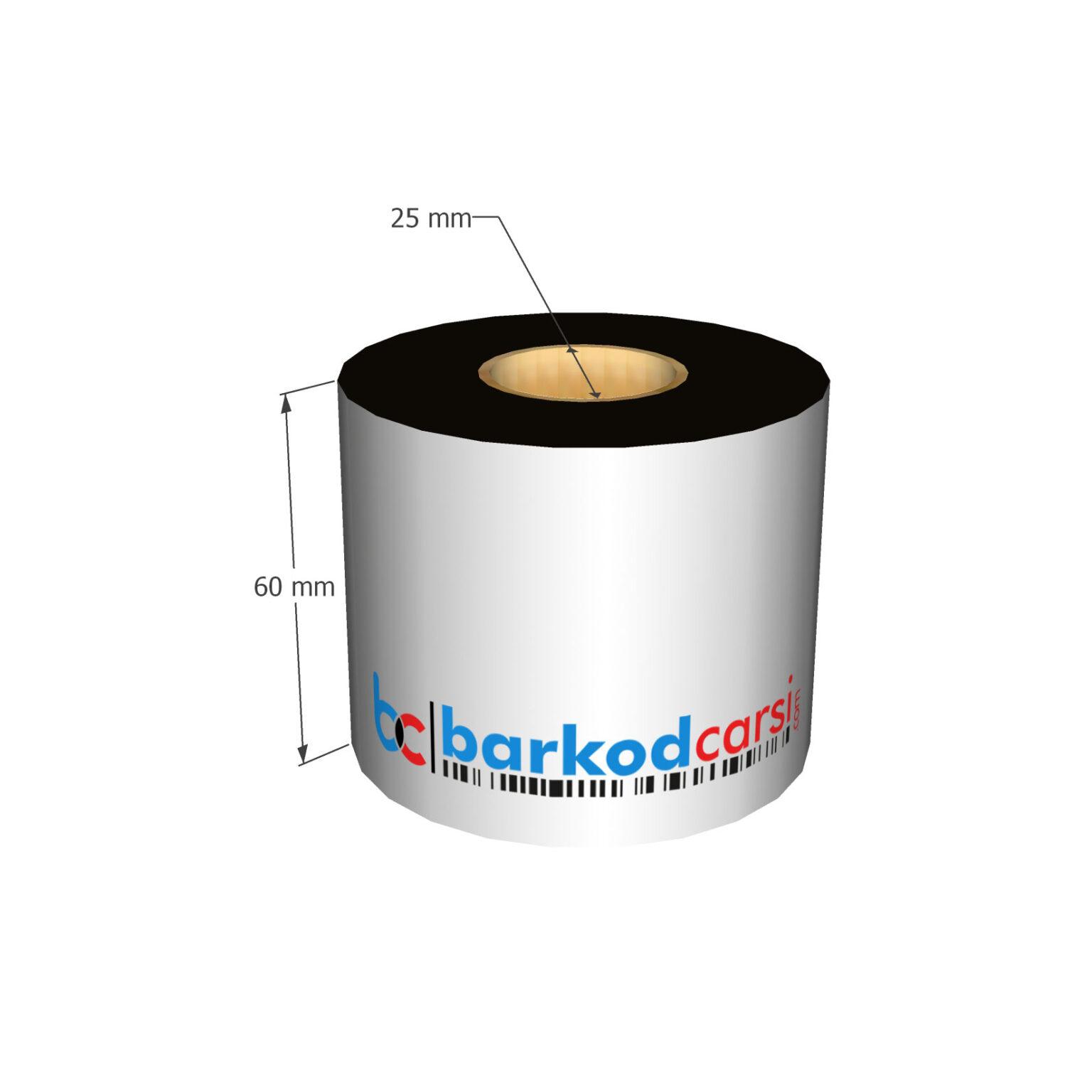 60x300 mt Wax / Wax-Resin / Resin / Hot-Foil Ribon Çeşitleri By BarkodCarsi.com