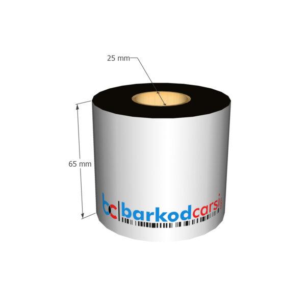 65x300 mt Wax / Wax-Resin / Resin / Hot-Foil Ribon Çeşitleri By BarkodCarsi.com
