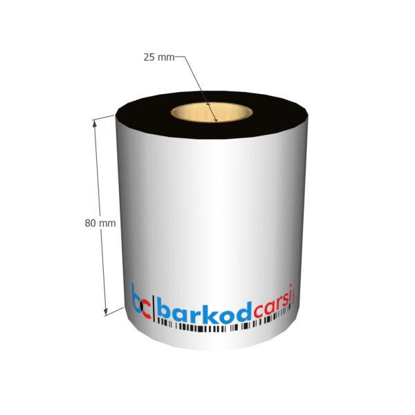 80x300 mt Wax / Wax-Resin / Resin / Hot-Foil Ribon Çeşitleri By BarkodCarsi.com