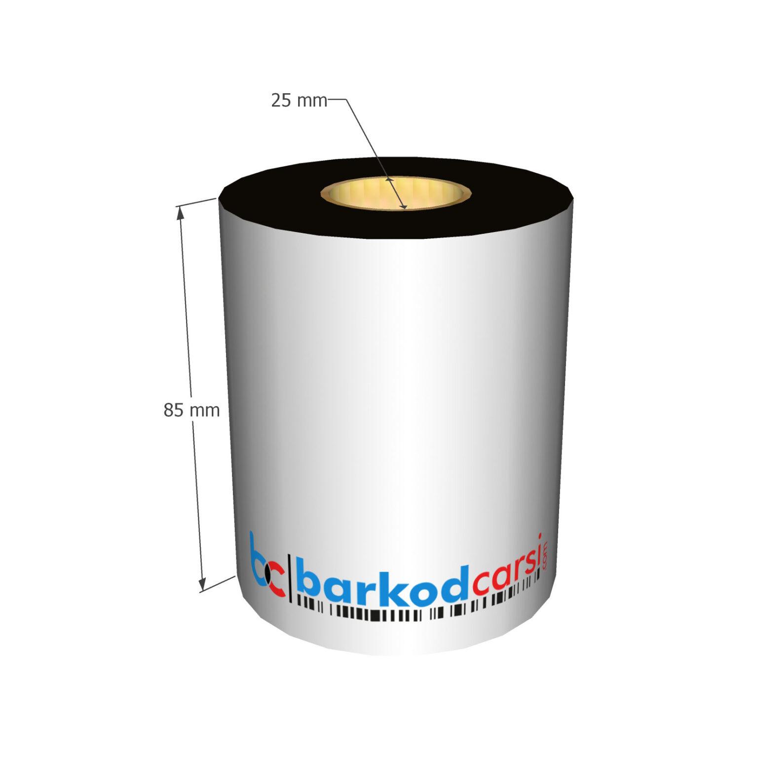 85x300 mt Wax / Wax-Resin / Resin / Hot-Foil Ribon Çeşitleri By BarkodCarsi.com