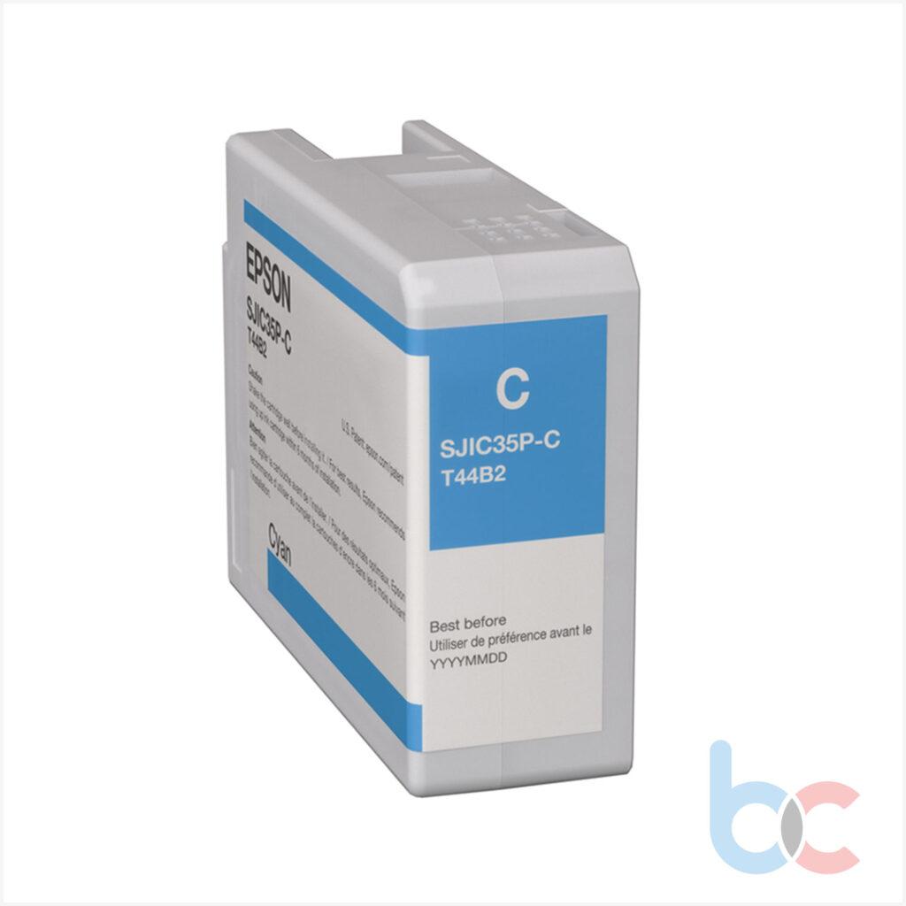 Epson Colorworks Cw-C6500 ve Cw-C6000 için SJIC36P(C) Kartuş