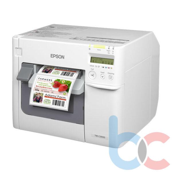 Epson C3500 Renkli Barkod Yazıcı