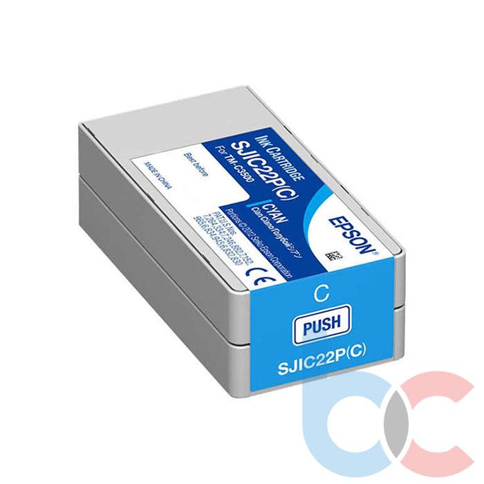 Epson TM-C3500 SJIC22P (C) Cyan - Kartuş Fiyatı
