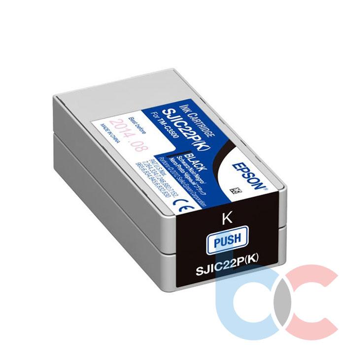 Epson TM-C3500 SJIC22P (B) Black - Kartuş Fiyatı