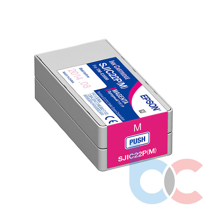 Epson TM-C3500 SJIC22P (M) Magenta - Kartuş Fiyatı