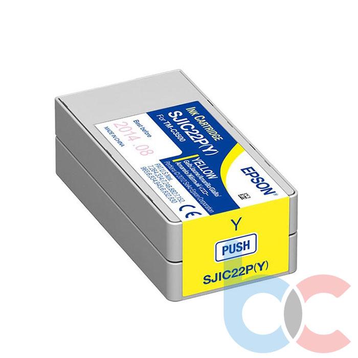 Epson TM-C3500 SJIC22P (Y) Yellow - Kartuş Fiyatı