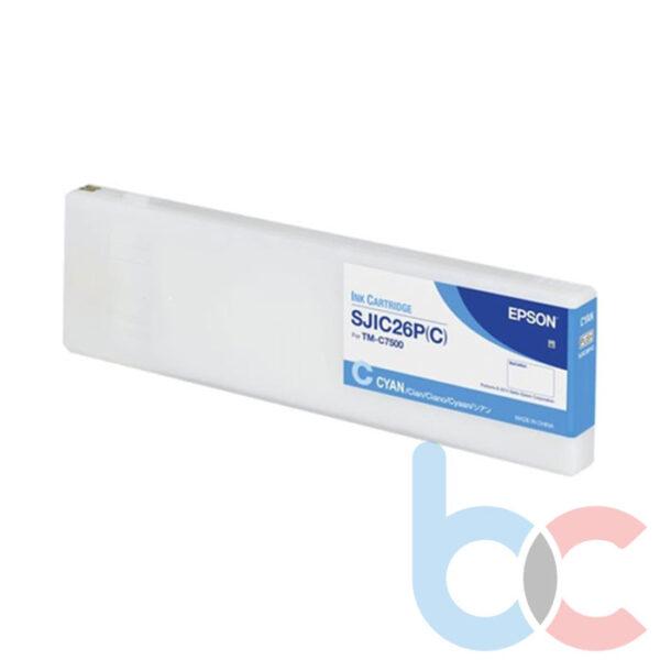Epson C7500 SJIC26P-C Kartuş