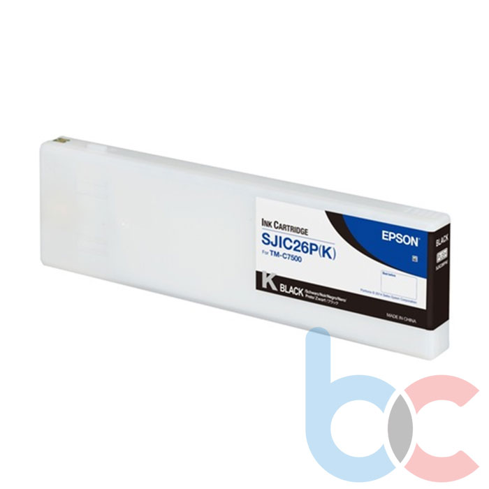 Epson C7500 SJIC26P-K Kartuş